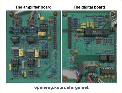 OpenEEG hardware - Amplifiers