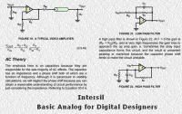 Basic Analog for Digital Designers