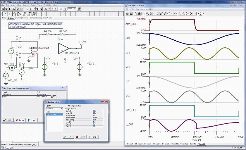 tina-ti-analog-spice-simulation