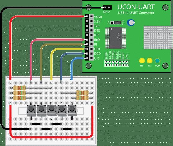 usb-to-uart-converter-pcb