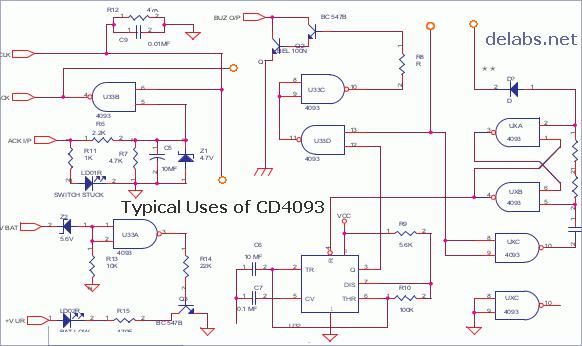cd4093-applications