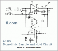 LF398 – Monolithic Sample and Hold Circuit