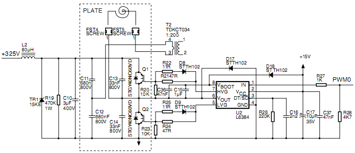 induction-cooker-power-stage