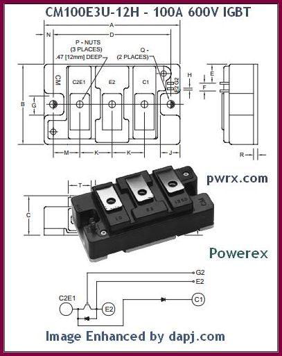 powerex-cm100e3u
