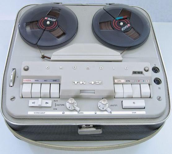 Grundig Tonbandkoffer TK 42 - 1962