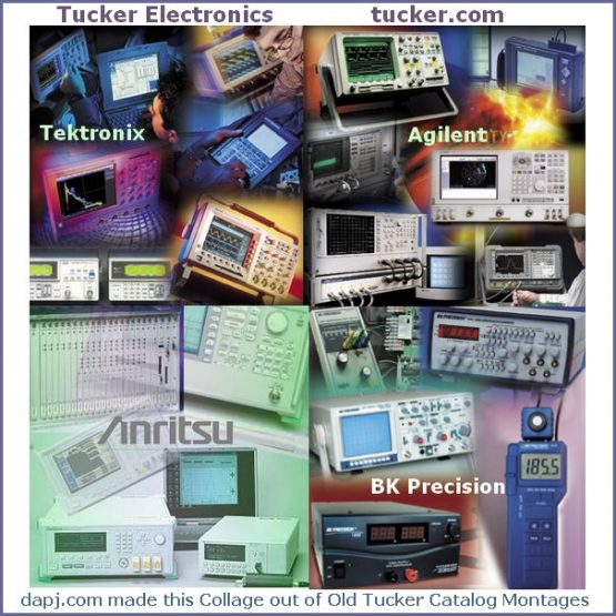 Electronic Test Equipment from Tucker Electronics