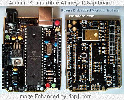 Sleeping Beauty - Arduino Compatible ATmega1284p board