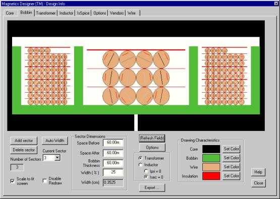 Intusoft - Magnetics Designer