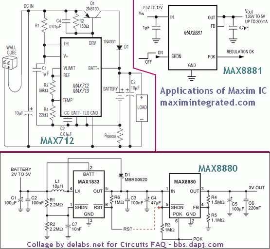 Battery Boost Circuits Max8880