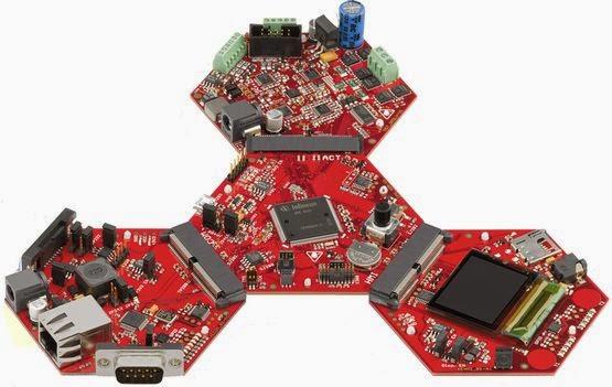 Infineon XMC4500 ARM Cortex-M4F Demo