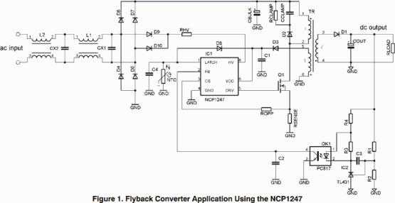 NCP1247 Controller