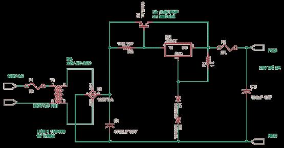 Single Polarity Power Supply