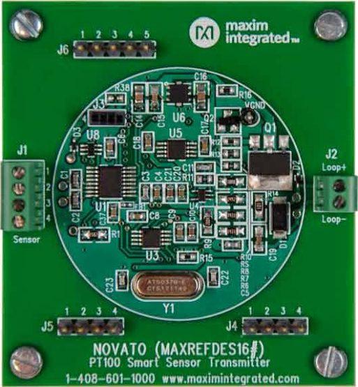 Novato smart sensor transmitter.
