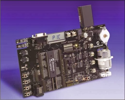 Mechatronics Demonstration Kit with PIC