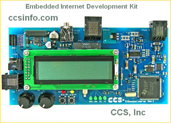 Embedded Internet Development from CCS
