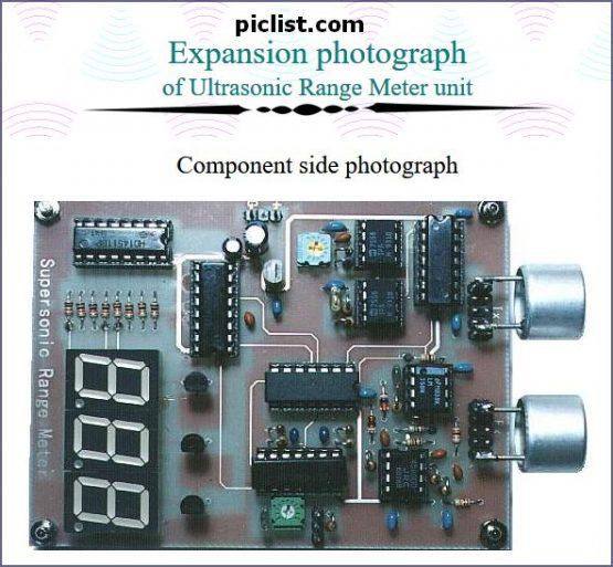 Ultrasonic Range Meter